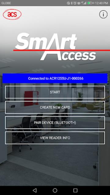 ACS SmartAccess screenshot 1
