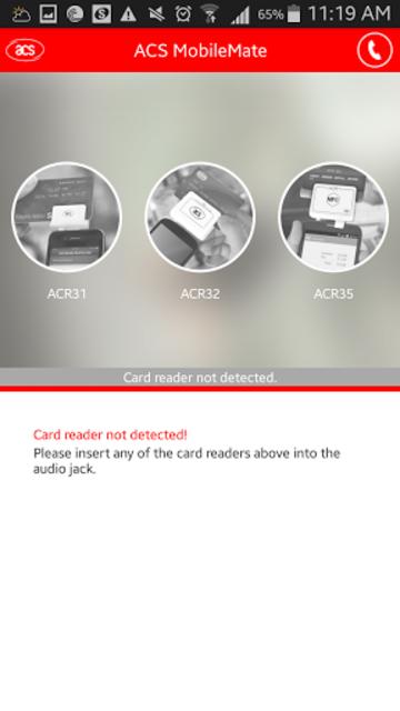 ACS MobileMate screenshot 1