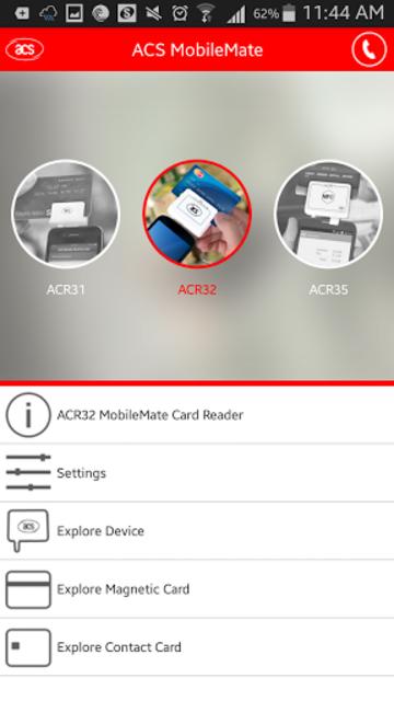 ACS MobileMate screenshot 2