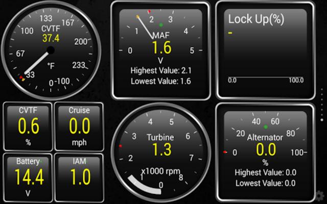 ActiveOBD TQ screenshot 1