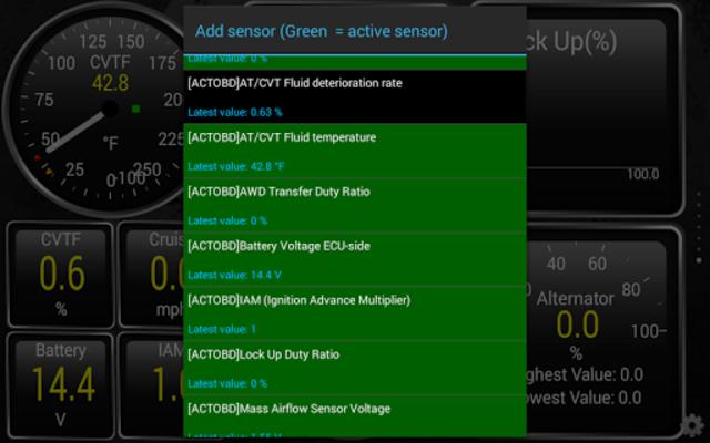ActiveOBD TQ screenshot 2