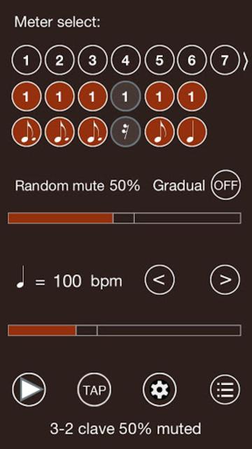 Time Guru Metronome screenshot 1