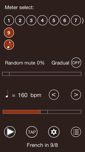 Time Guru Metronome screenshot 3
