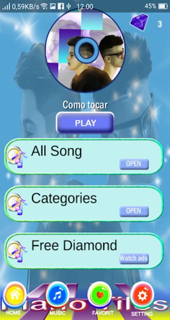 Adexe Y Nau Piano Tiles screenshot 2