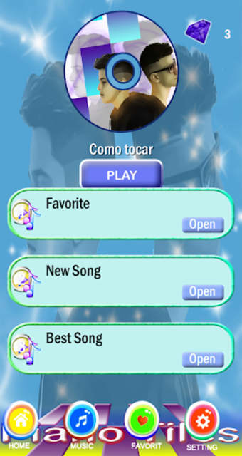 Adexe Y Nau Piano Tiles screenshot 3