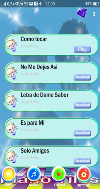 Adexe Y Nau Piano Tiles screenshot 4