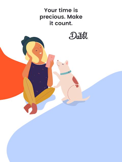 Dabbl - Your time well spent screenshot 10