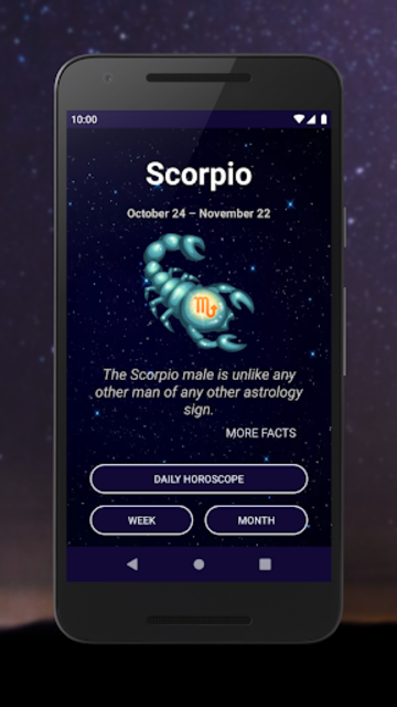 Scorpio Horoscope - Free Daily Zodiac Sign screenshot 1