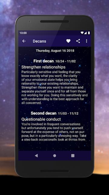 Scorpio Horoscope - Free Daily Zodiac Sign screenshot 3