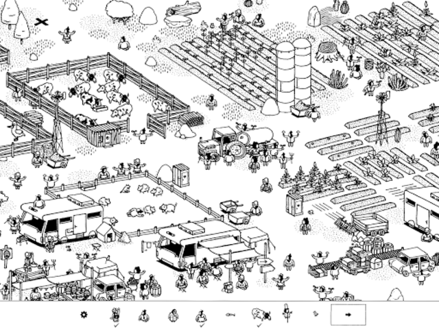 Hidden Folks screenshot 20