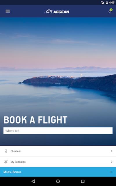 Aegean Airlines screenshot 15