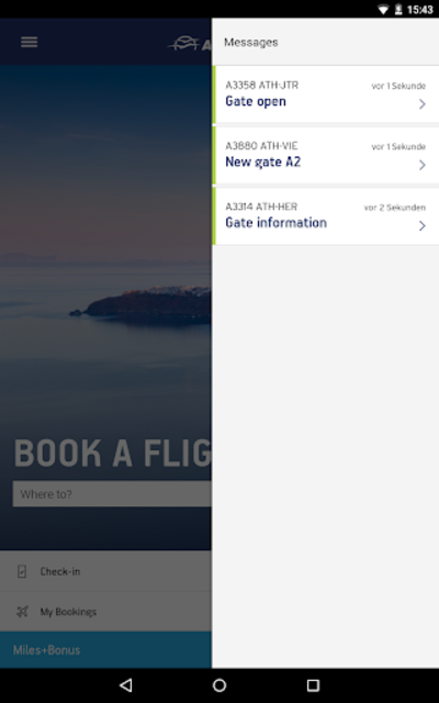 Aegean Airlines screenshot 21