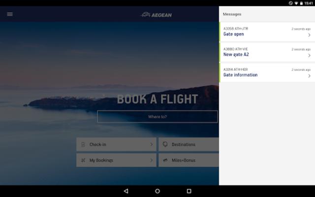 Aegean Airlines screenshot 14