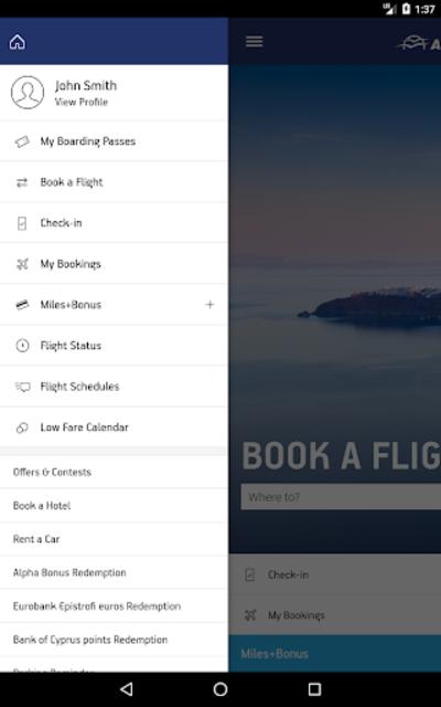 Aegean Airlines screenshot 16