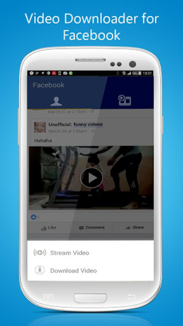 Video Downloader For Facebook screenshot 1