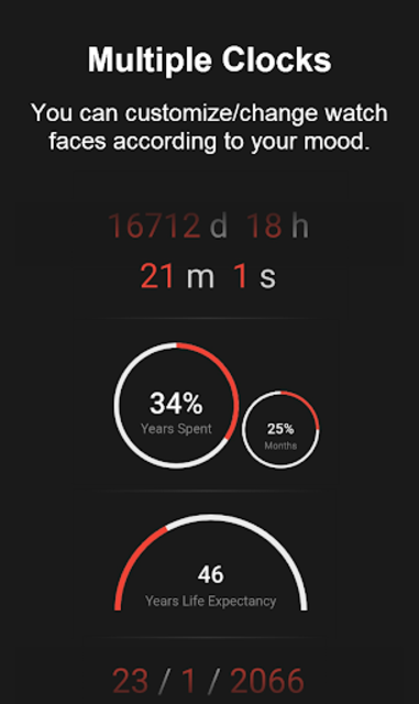 Death Clock: Life Quotes & Death Date screenshot 3