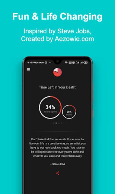Death Clock: Life Quotes & Death Date screenshot 4