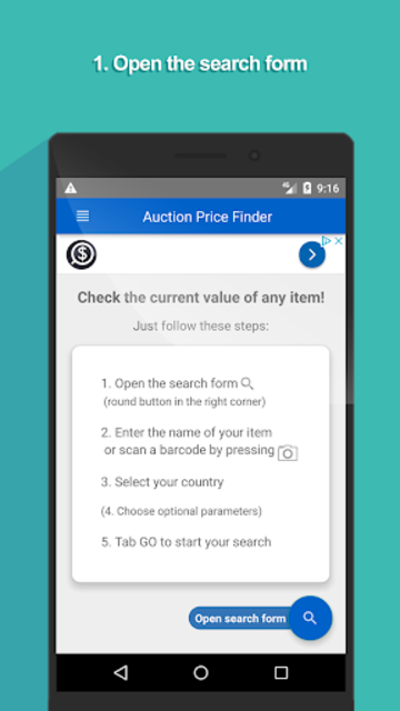 Auction Price Finder - ad free price check screenshot 1