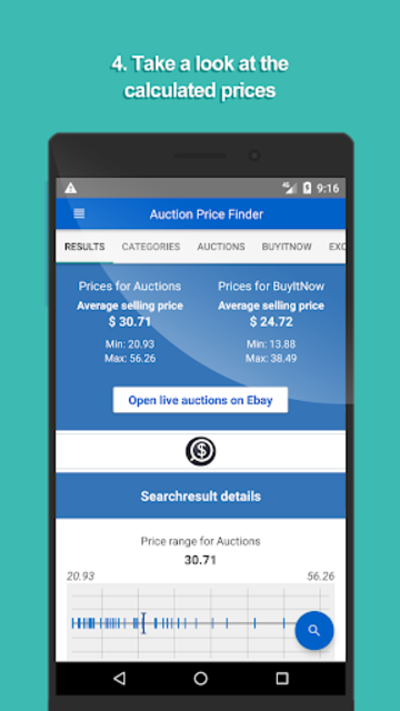 Auction Price Finder - ad free price check screenshot 4