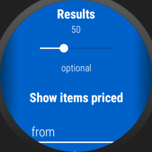 Auction Price Finder for Wear OS screenshot 3