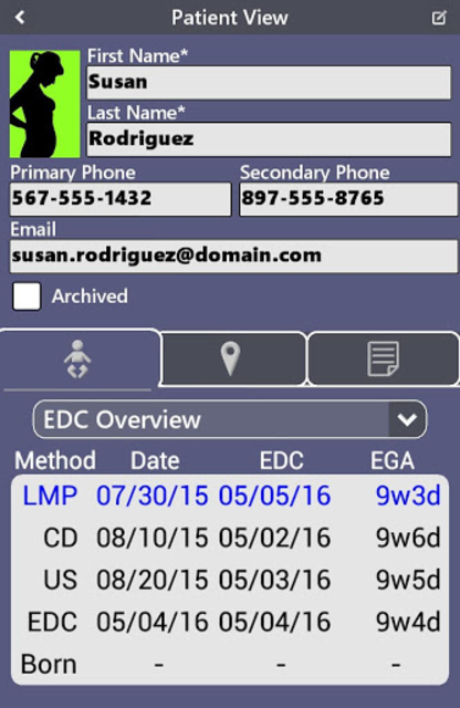 Prenatal Patient Tracker screenshot 10
