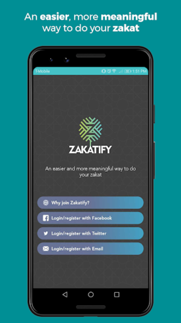 Zakatify: Support, donate & give to charity screenshot 1