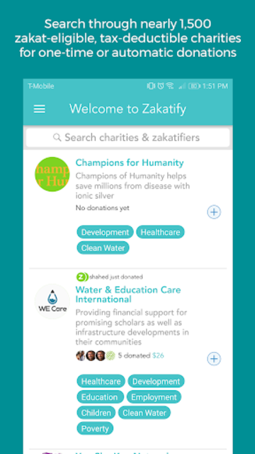 Zakatify: Support, donate & give to charity screenshot 2