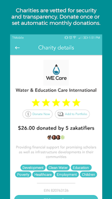 Zakatify: Support, donate & give to charity screenshot 3