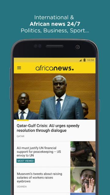 Africanews - Daily & Breaking News in Africa screenshot 1