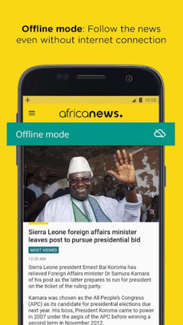Africanews - Daily & Breaking News in Africa screenshot 2