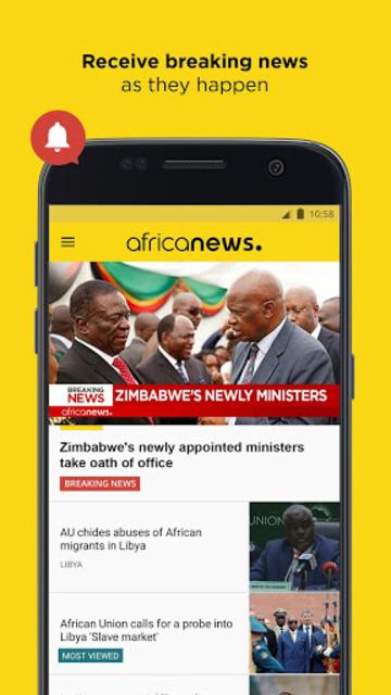 Africanews - Daily & Breaking News in Africa screenshot 4