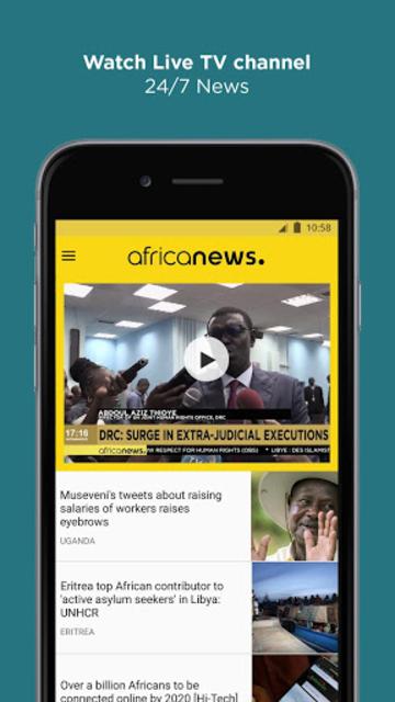 Africanews - Daily & Breaking News in Africa screenshot 5