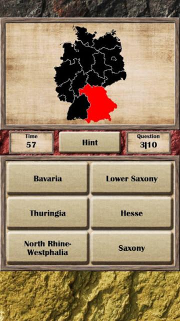 Germany - Quiz Game screenshot 2