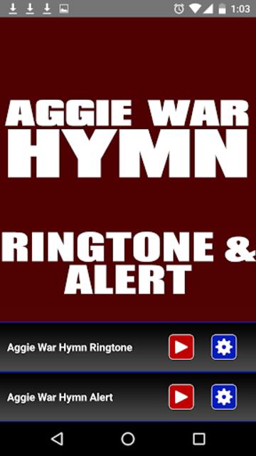 Aggie War Hymn Ringtone screenshot 2