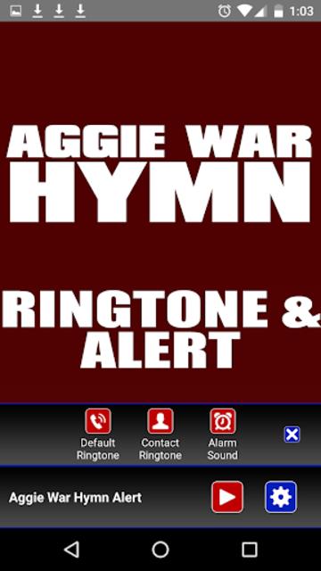 Aggie War Hymn Ringtone screenshot 3
