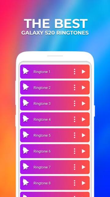 Best Galaxy S20™ Ringtones - Free Download screenshot 1