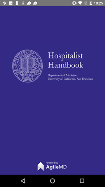 Hospitalist Handbook screenshot 1