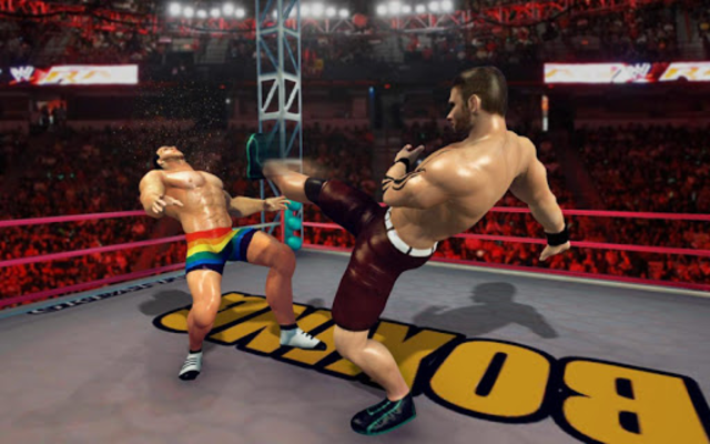 Royal Wrestling Cage: Sumo Fighting Game screenshot 1