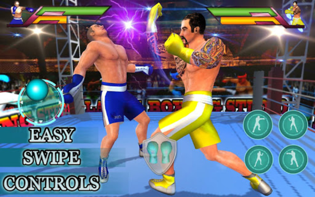Royal Wrestling Cage: Sumo Fighting Game screenshot 4