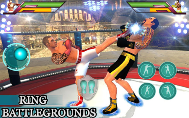 Royal Wrestling Cage: Sumo Fighting Game screenshot 18