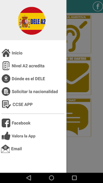 DELE A2 2020 Examen Premium screenshot 3