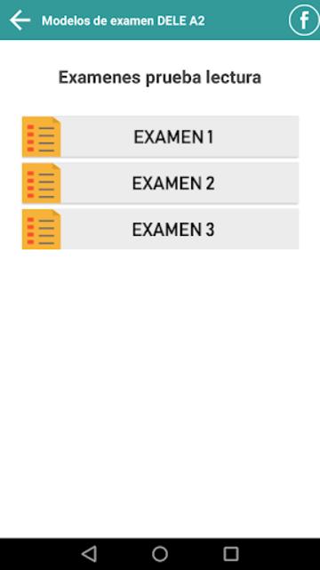 DELE A2 2020 Examen Premium screenshot 4