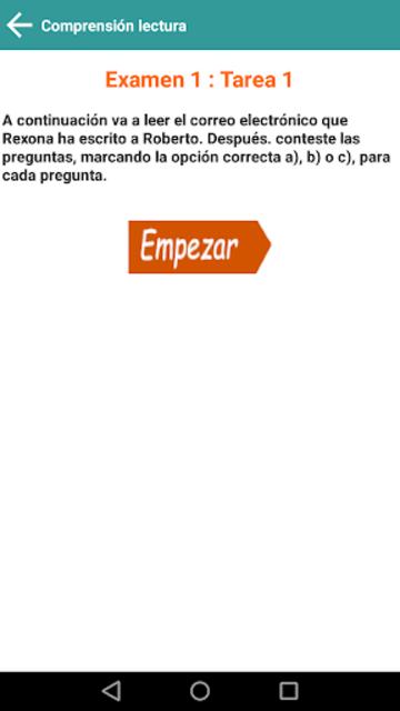 DELE A2 2020 Examen Premium screenshot 6