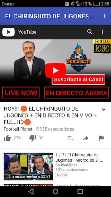 About El Chiringuito De Jugones En Vivo Google Play Version Apptopia