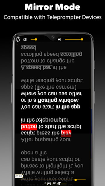 Nano Teleprompter screenshot 8