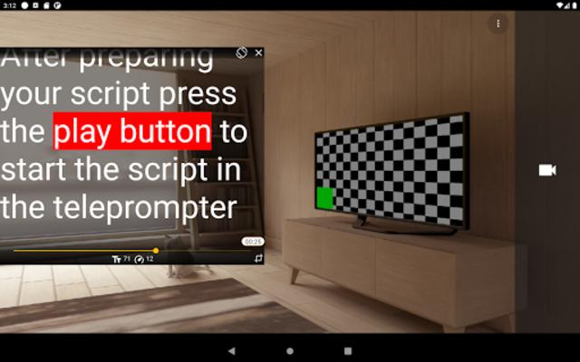 Nano Teleprompter screenshot 10