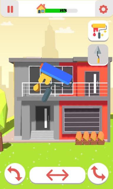 Roller Paint House Restoration screenshot 1