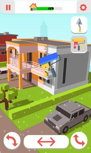 Roller Paint House Restoration screenshot 3