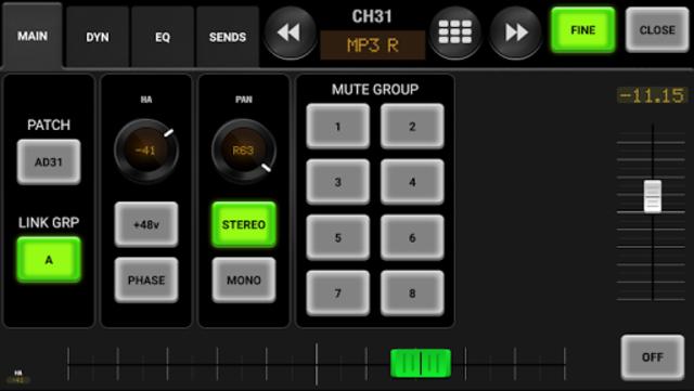 AirFader LS9 Pro screenshot 3