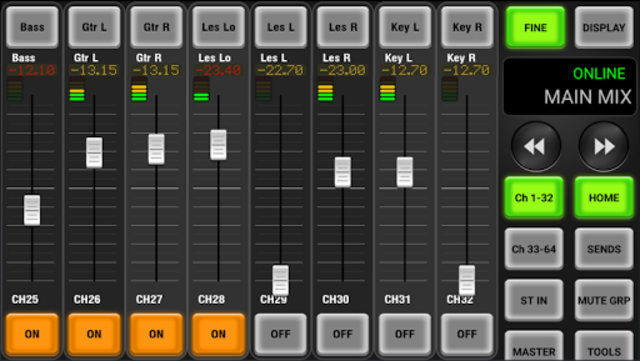 AirFader M7CL Pro screenshot 1